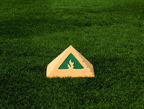 "P#1023 - 6"" x 6"" x 3.5"" Pyramid"