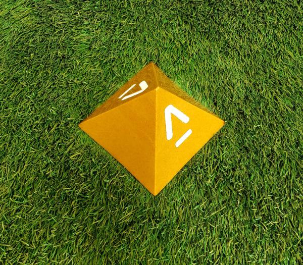 "P#1081 - 5.5"" x 5.5"" x 4"" Pyramid"